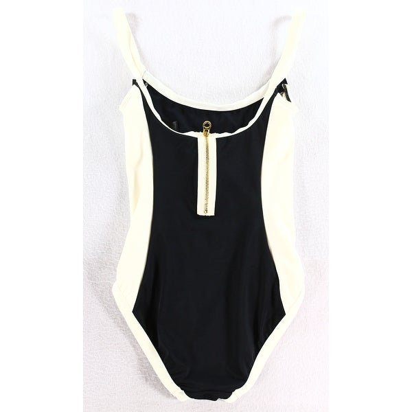 Marc New York NEW Black White Women's Size Small S One-Piece Swimwear