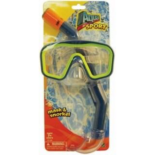 Aqua Leisure AQK10393 Big Island Deluxe Intermediate Mask & Snorkel Set