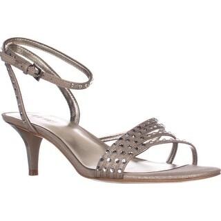 Nine West Lastage Dress Sandals, Silver