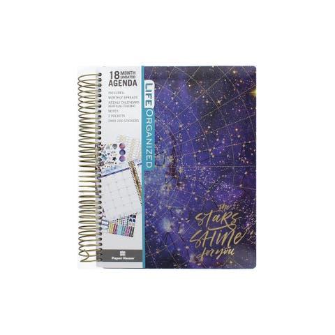Paper House Life Org Planner 18 Month Stargazer - Medium