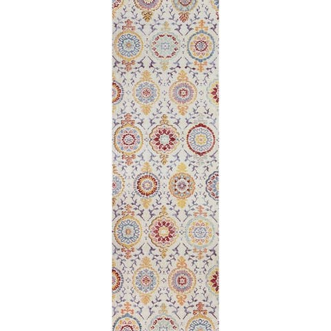Bashian Giancarlo Bohemian Power Loom Area Rug