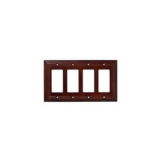 Franklin Brass W35252-C Classic Architecture Quadruple Rocker / GFI Outlet Wall