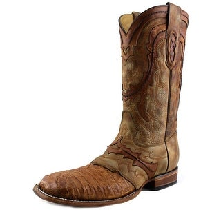 Corral C2994 Men Square Toe Leather Tan Western Boot
