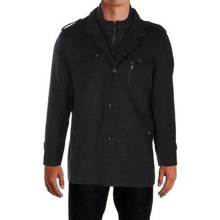 APTRO Mens Jacket Wool Outerwear - L