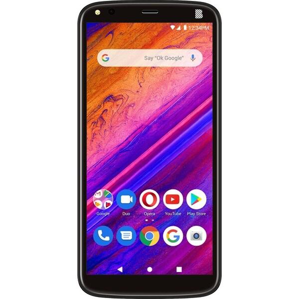 BLU G5 Plus 32GB G0190UU Dual-SIM Unlocked GSM Android Phone - Black