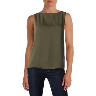 Polo Ralph Lauren Womens Blouse Slit Back Sleeveless