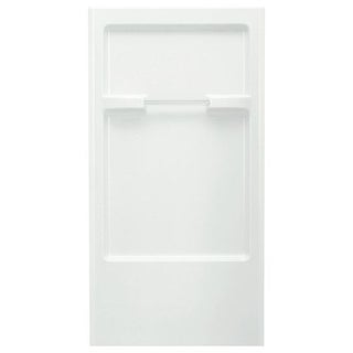 "Sterling 62022100 Advantage 66-1/4"" x 36"" Vikrell Shower Back Wall"