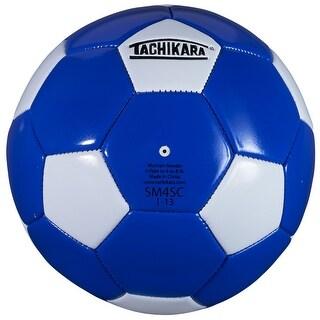 Tachikara SM4SC Recreational Soccer Ball (Royal Blue/White) - Blue