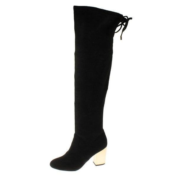 Steve Madden Womens Candle Over-The-Knee Boots Tall Dress