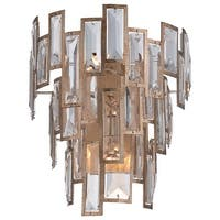 Metropolitan N2670-274 3-Light Wall Sconce from the Bel Mondo Collection - luxor gold - n/a