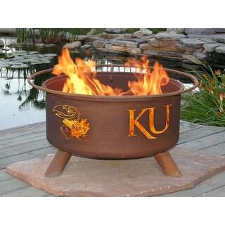 Patina Products F239 Kansas University Fire Pit - Bronze