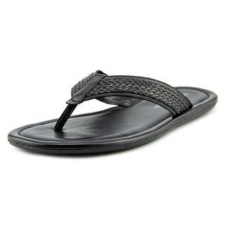 Winthrop Branson Men Open Toe Leather Thong Sandal