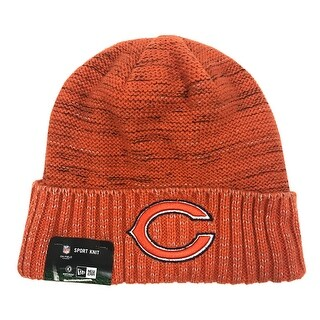 New Era Chicago Bears Knit Beanie Cap Hat Official NFL 2017 Kickoff 11461168