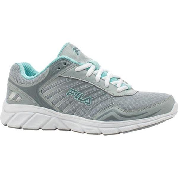 b2bdf0cdd27f Shop Fila Women s Gamble Running Shoe Highrise Monument Aruba Blue - Free  Shipping On Orders Over  45 - Overstock - 11253760