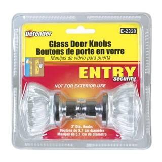 Shop Prime Line E2536 2 Quot Satin Nickel Glass Door Knob