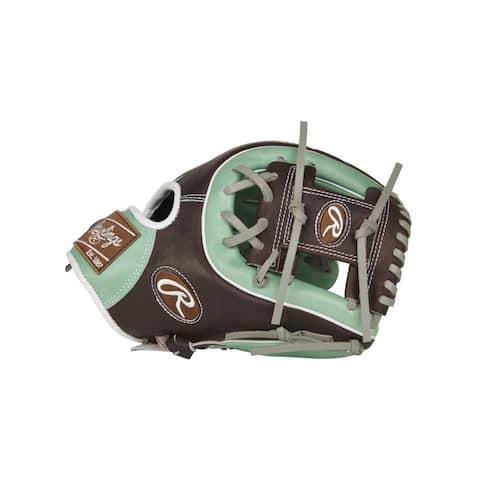 """Rawlings Limited Edition Pro Preferred 11.5"""" Mint/Mocha Glove (RH)"""