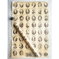 Historic U.S. Document Reproduction: U.S. Presidents - multi
