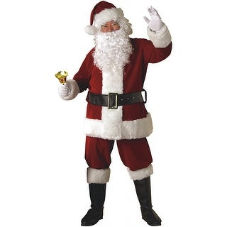 Crimson Regal Santa Suit