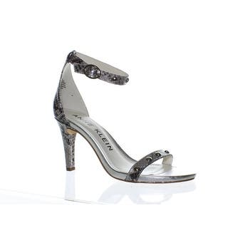 733857367176 Quick View. Was  37.03.  2.64 OFF.  34.39. Anne Klein Womens Ossana  Silver Multi Ankle Strap Heels Size 8