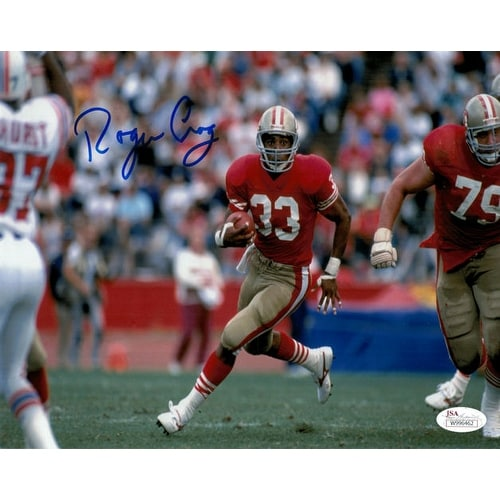 97c34cff5be Shop Roger Craig Autographed San Francisco 49ers 8x10 Photo Red Jersey JSA  - Free Shipping Today - Overstock - 13484751