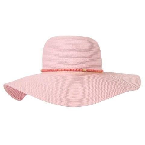 Oversized Bead Band Sun Hat - One size