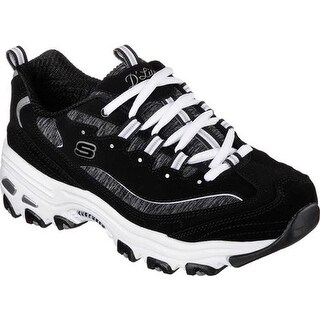 Skechers Women's D'Lites Sneaker Me Time/Black/White