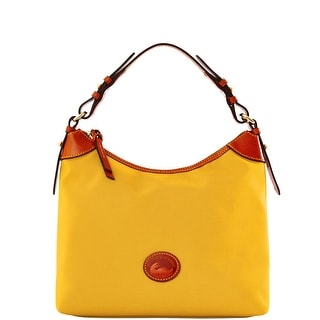 Dooney & Bourke Nylon Large Erica (Introduced by Dooney & Bourke at $149 in Jun 2015) - Marigold