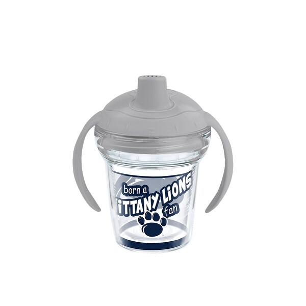 e26997b8bfb Shop NCAA Penn State Nittany Lions Born A Fan 6 oz Sippy Cup with lid -  Free Shipping On Orders Over $45 - Overstock - 23048220
