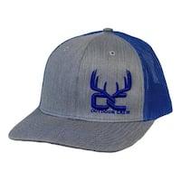 Outdoor Crew Hat Horns Trucker Azul Snapback Gray Blue