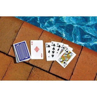 Water Sports Waterproof Swimming Pool Deck of Playing Cards Game