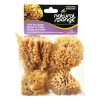 Acme 1094903 3.5 x 4 in. Faux Artist Sea Sponge - Pack of 4