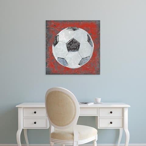Easy Art Prints Studio W's 'Grunge Sporting IV' Premium Canvas Art