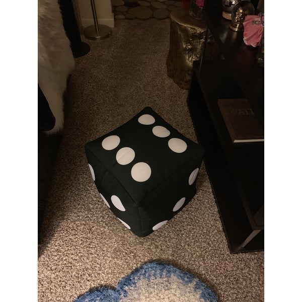 Stupendous Shop Cube Dice Bean Bag Pouf On Sale Ships To Canada Evergreenethics Interior Chair Design Evergreenethicsorg