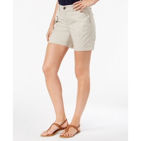 Style & Co. Beige Women's Size 16 Utility Pockets Cargo Shorts