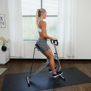 Squat Assist Rower-Ride for Squat Exercise and Glutes Workout gym equipment for home workouts