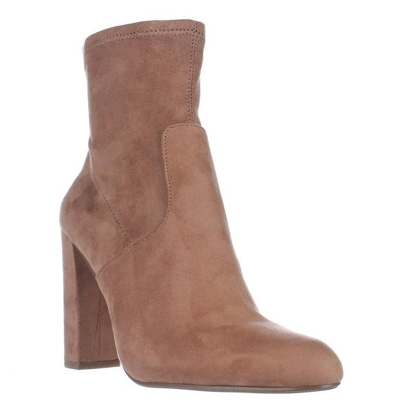 Steve Madden Brisk Stretch Ankle Booties, Camel