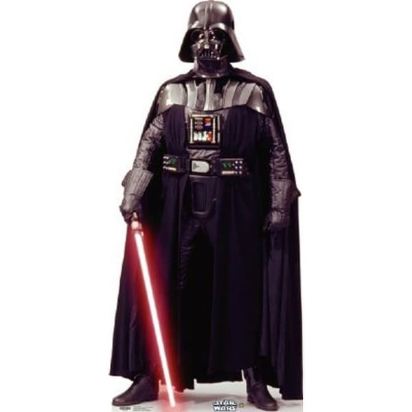 Advanced Graphics 656T Cardboard Standup Darth Vader Talking