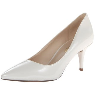 Nine West Womens Margot Leather Pointed Toe Classic Pumps