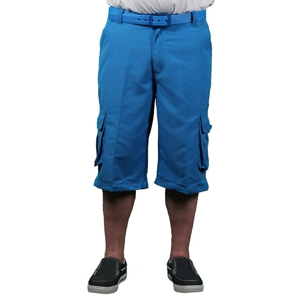 Akademiks Men's Neon Cargo Shorts