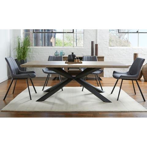 Rye Studio Roma Grey Washed Dining Table