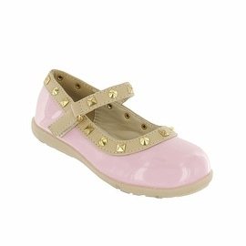 Cookie Smoochie Lili Mary Jane Flat with Studs (Option: 9)