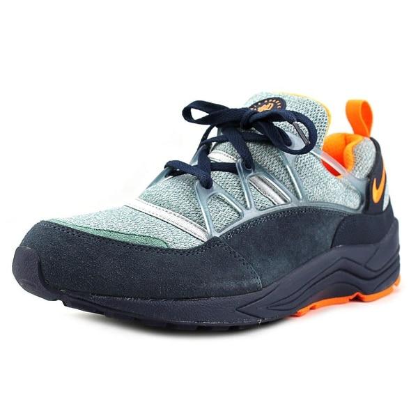 Nike Air Huarache Light Men Round Toe Leather Blue Running Shoe