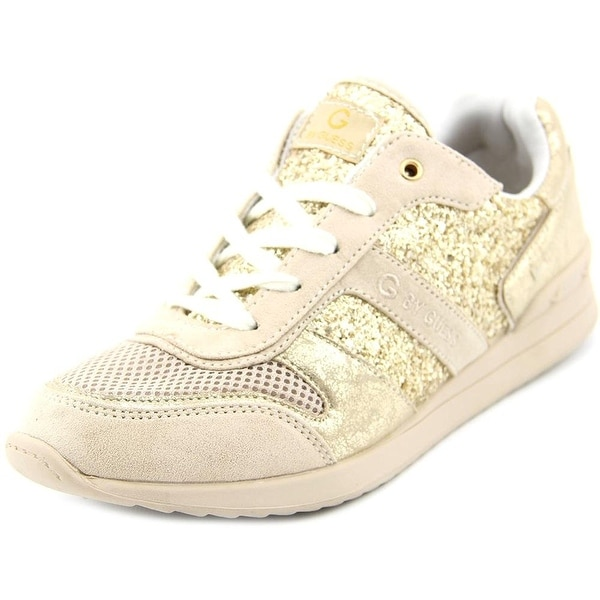 GUESS Womens FAX Low Top Lace Up Fashion Sneakers