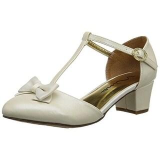 Nina Girls India Leather Dress Shoes - 2