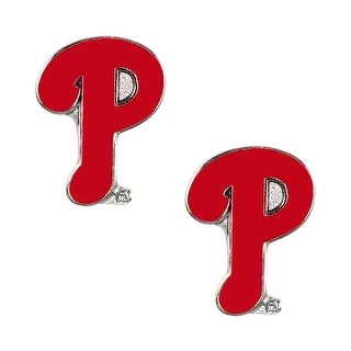 Philadelphia Phillies Post Stud Logo Earring Set MLB Charm