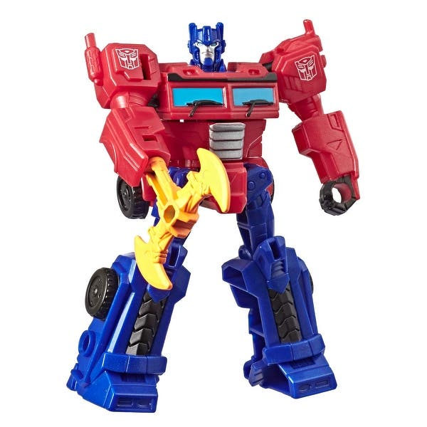 Shop Black Friday Deals On Transformers Toys Cyberverse Action Attackers Scout Class Optimus Prime Action Figure Overstock 30318616