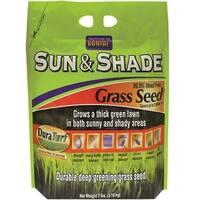 Bonide 60224 Sun & Shade Grass Seed, 7 Lbs