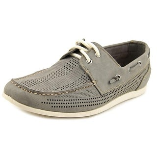 Madden Men Guppi   Moc Toe Synthetic  Boat Shoe