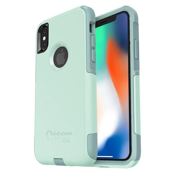 timeless design eac42 e74cb Shop OtterBox COMMUTER SERIES Case for iPhone X - Ocean Way (Aqua ...