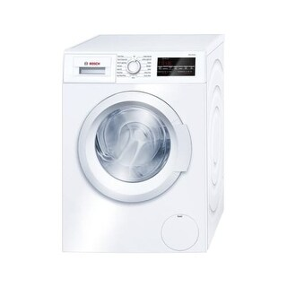 Bosch WAT28400U 24 Inch Wide 2.2 Cu. Ft. Energy Star Rated Front Loading Washer with EcoSilence Motor - White